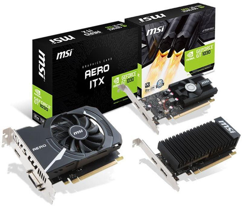 Arriva sul mercato Nvidia GeForce GT 1030 4