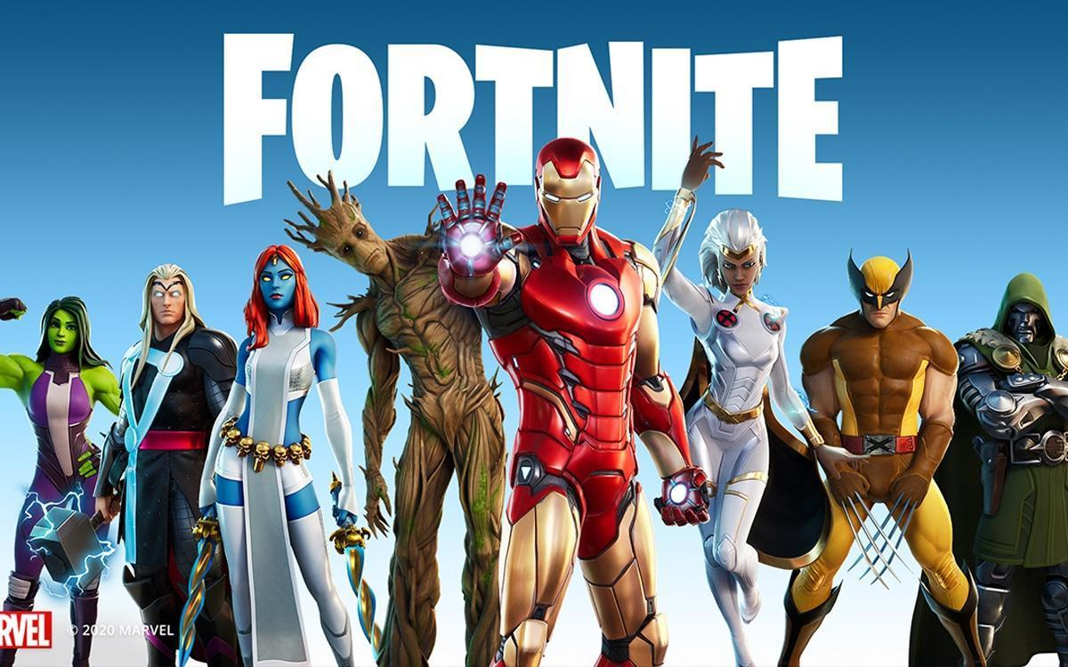 superheros fortnite