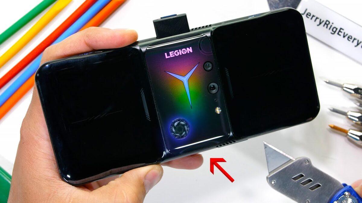 Legion Duel Phone 2: lo smartphone da gioco di Lenovo non supera questo stress test - CybeOut