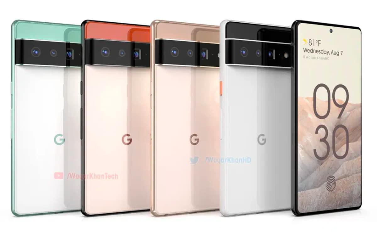 Il design del Google Pixel 6 con la sua spessa barra di sensori è confermato - CybeOut